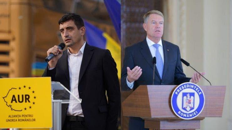 George Simion, răspuns dur la adresa președintelui Klaus Iohannis