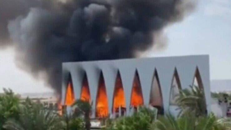 Incendiu într-o stațiune turistică din Egipt! Mai multe persoane au ajuns la spital