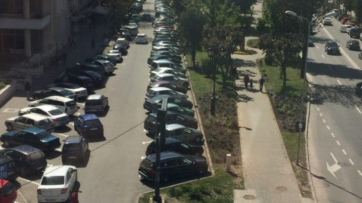 Un șofer din Suceava a avut parte un șoc după ce și-a parcat mașina necorespunzător